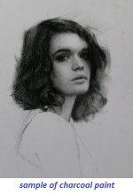charcoal portrait 2